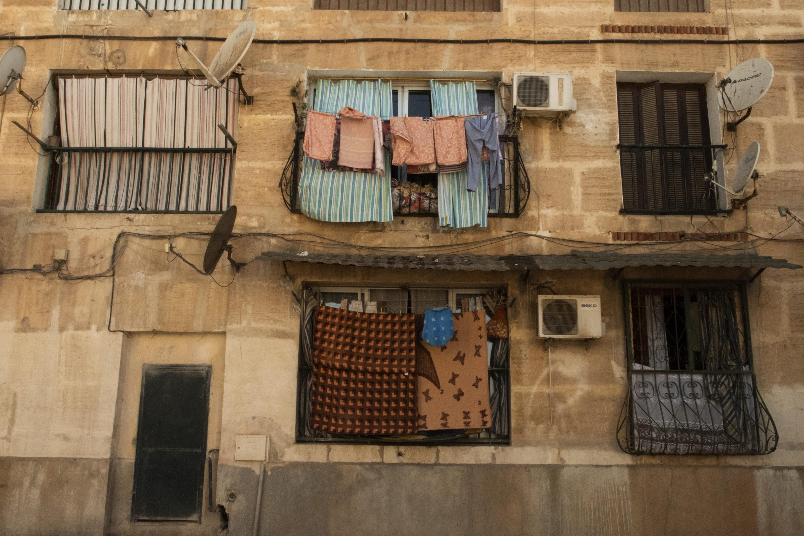 House wall Algiers