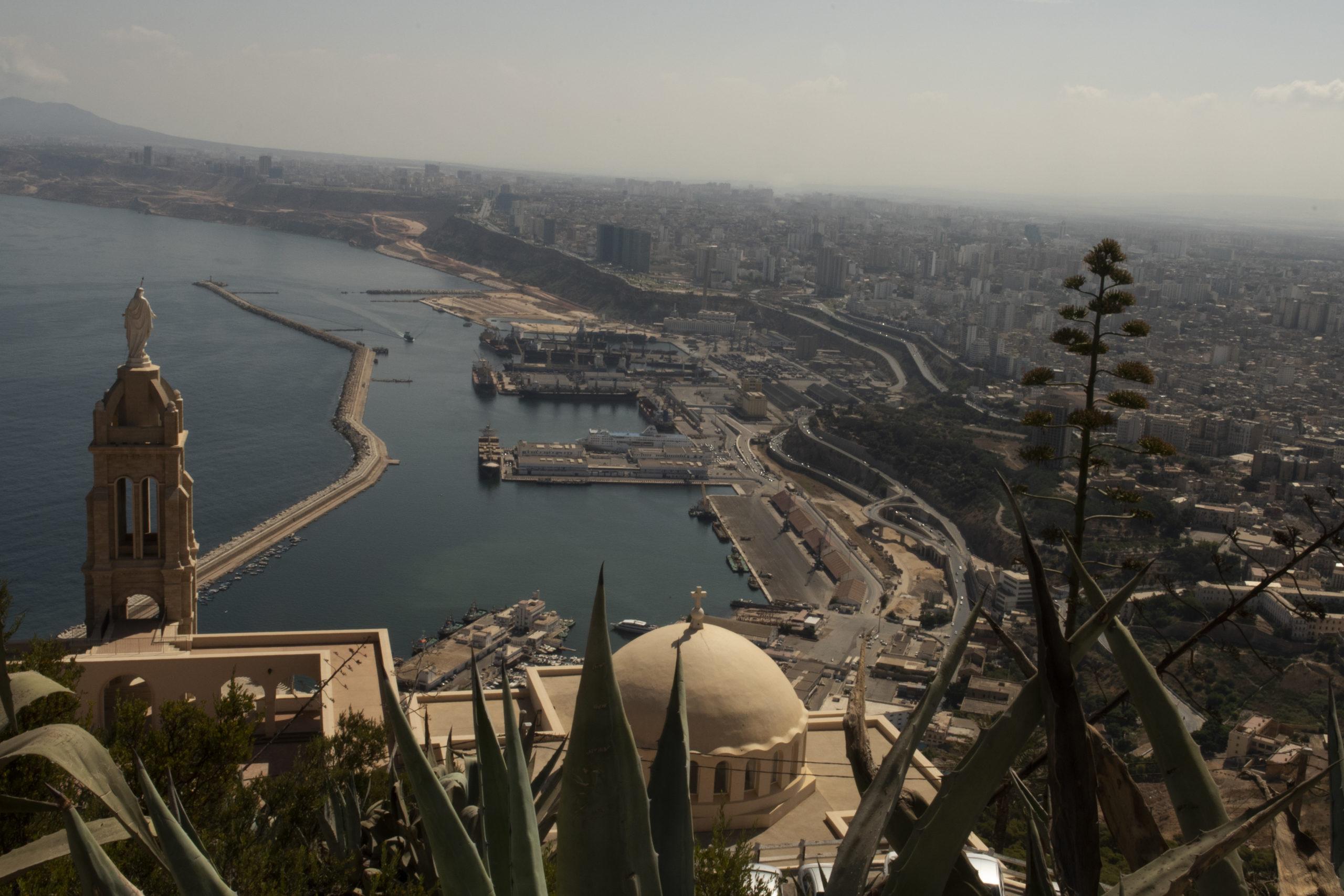 View above Oran