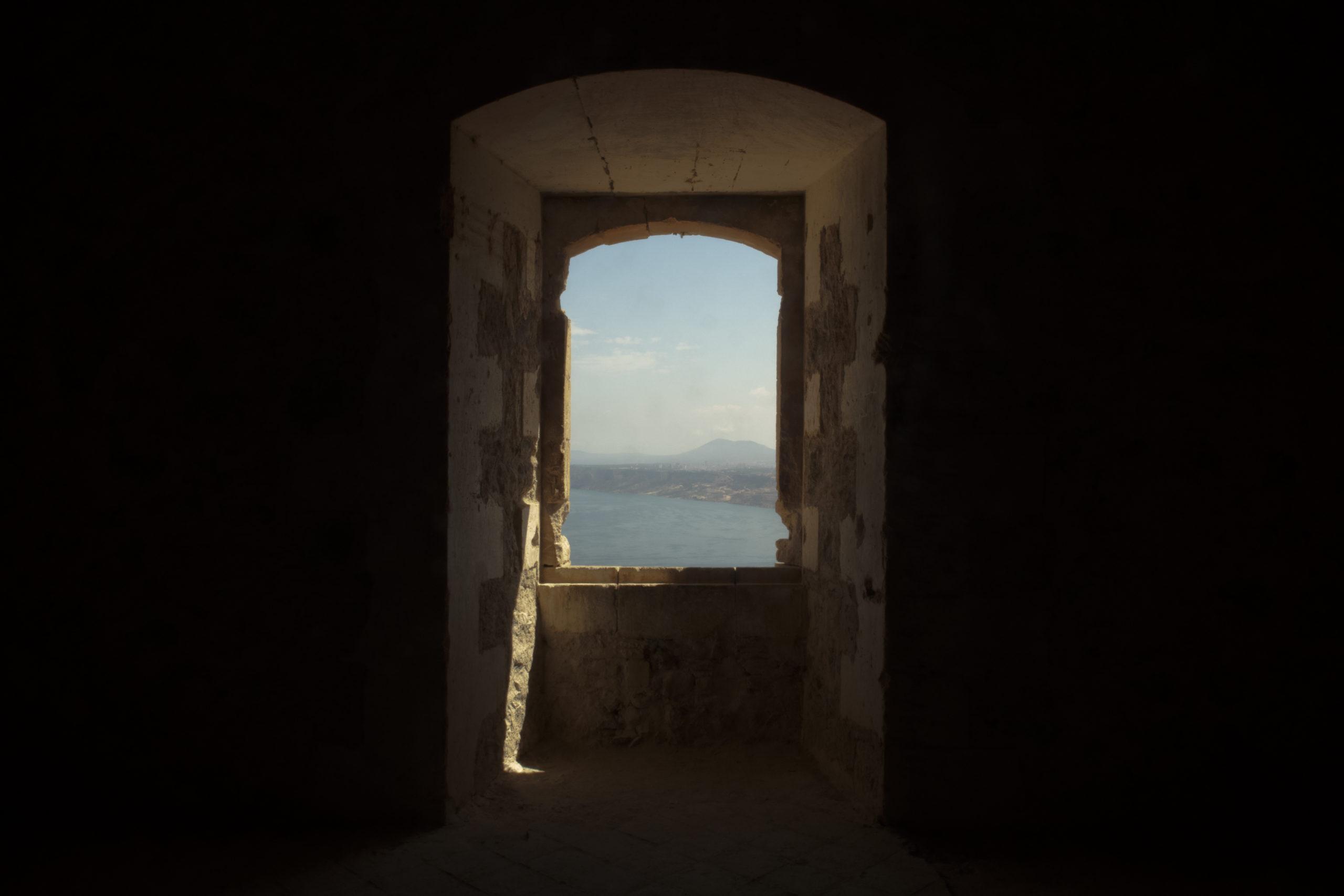 Looking outside on Oran